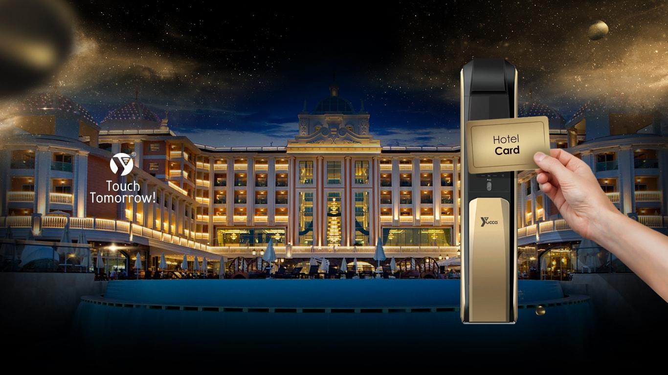 قفل دیجیتال کارتی هتلی
