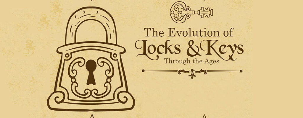 تکامل قفل درب
